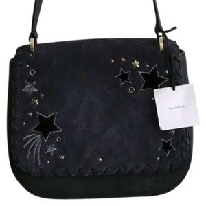 NWT! KATE SPADE Madison Collection Navy Leather Cr